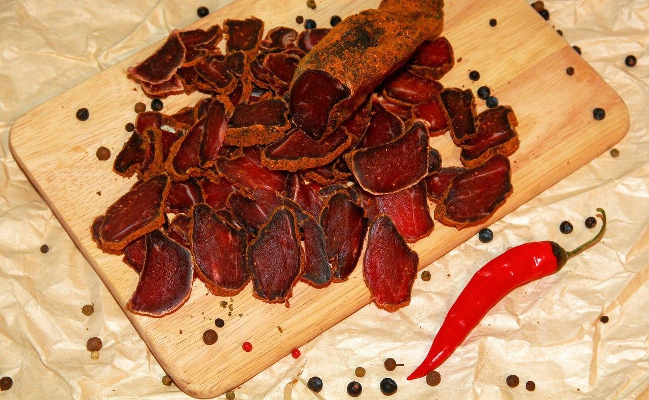 Мясо сушеное : рецепт приготовления в домашних условиях