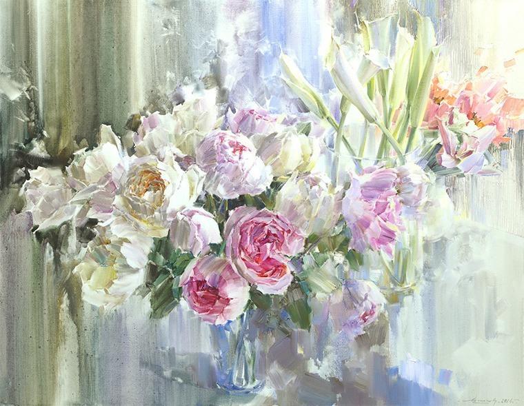 Картинки акварельные цветы