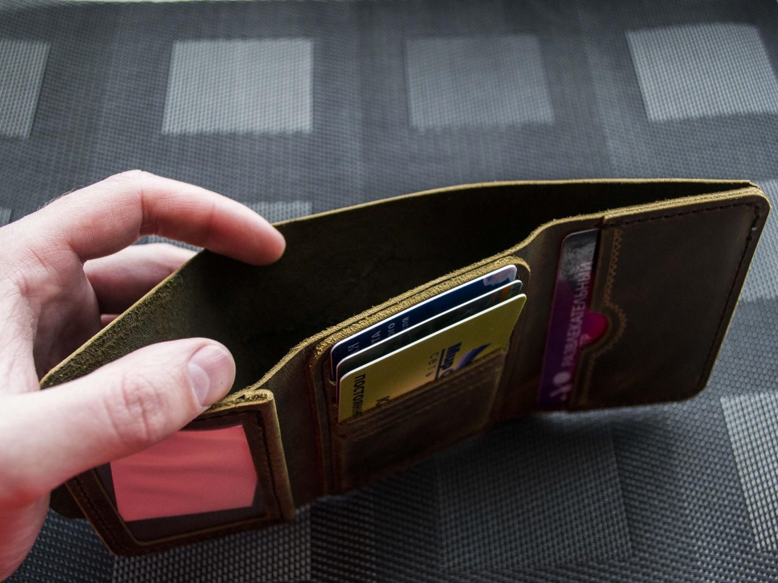 Как сделать кошелек из кожи своими руками
