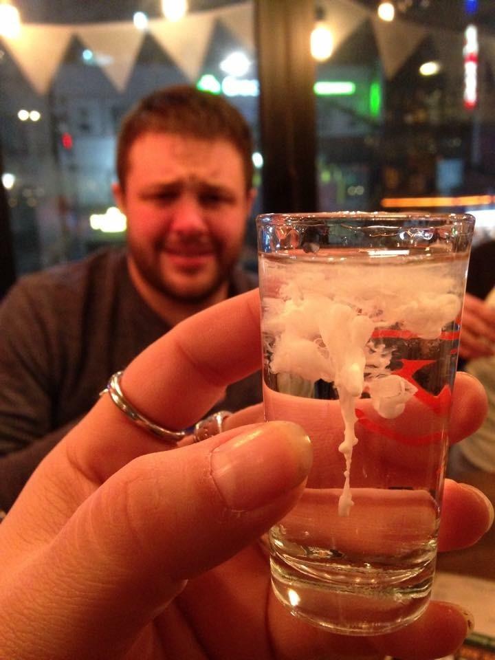 коктейля из спермы