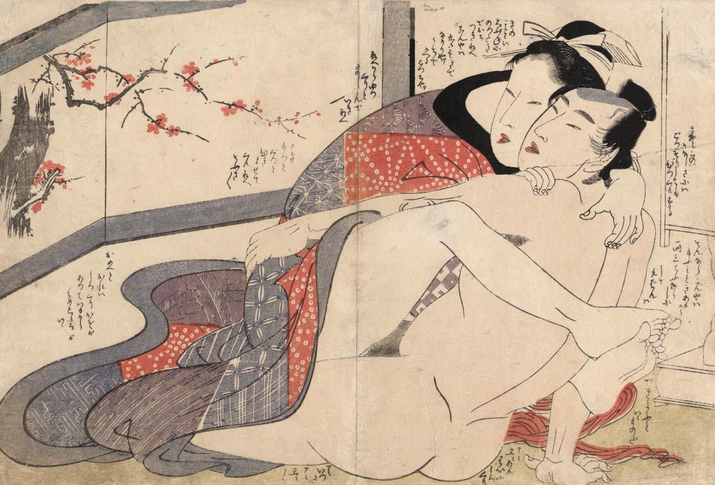 Японские легенды о сексе
