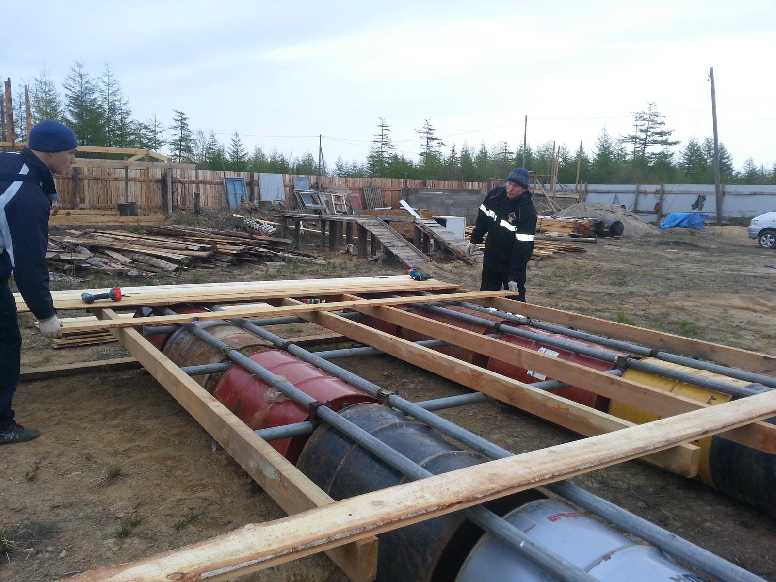 Леса строительные своими руками – надежная опора при крупном строительстве