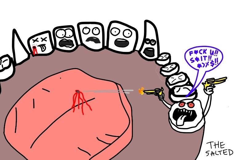 восьмерка зуб фото