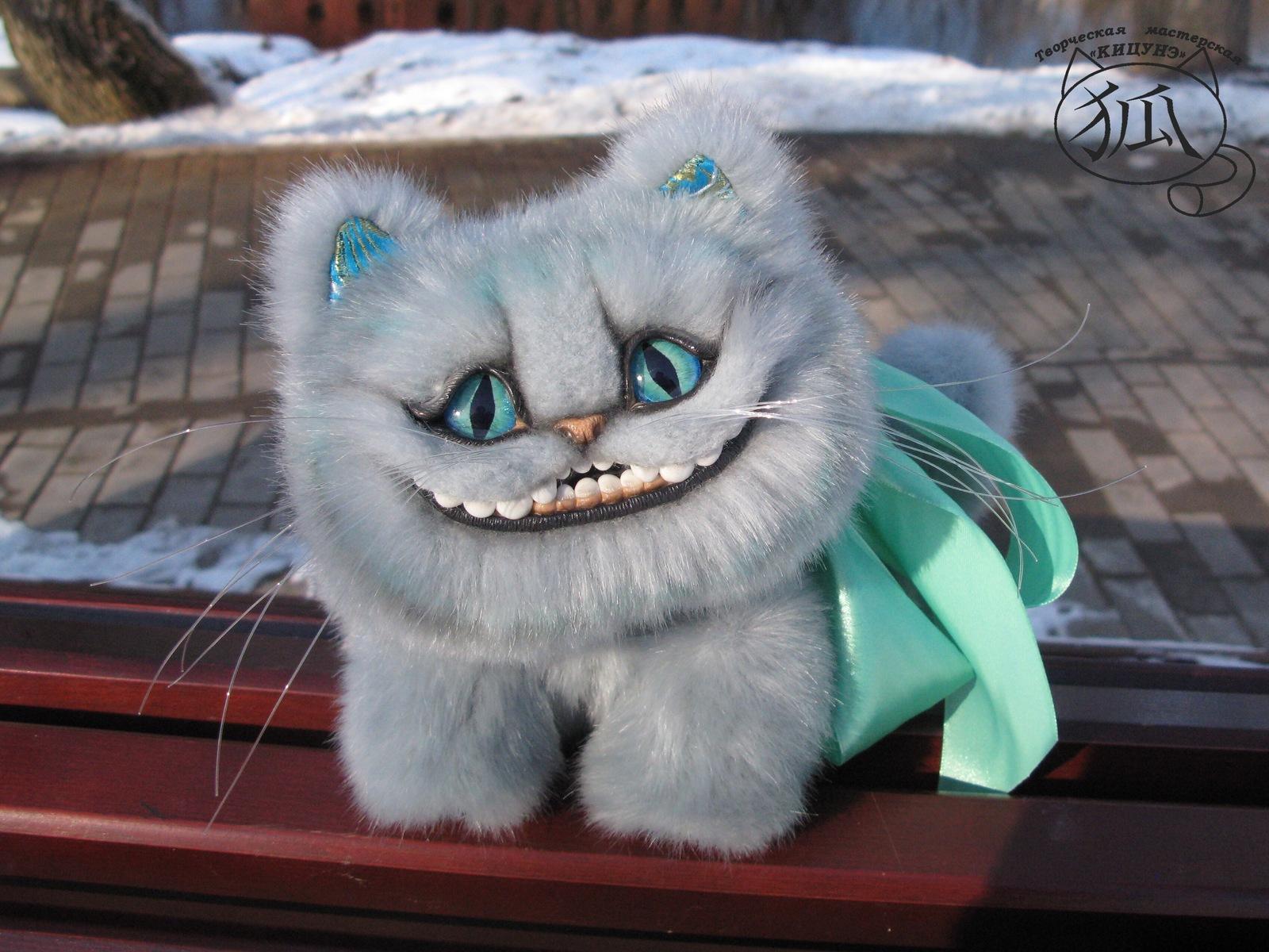 Чеширский кот своими руками фото 55