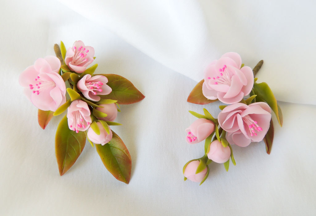 Поделки и цветы из полимерной