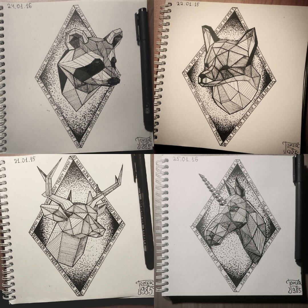 Графика рисунки кот