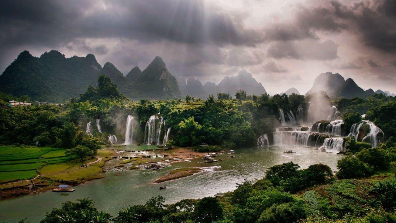 природа китай картинки