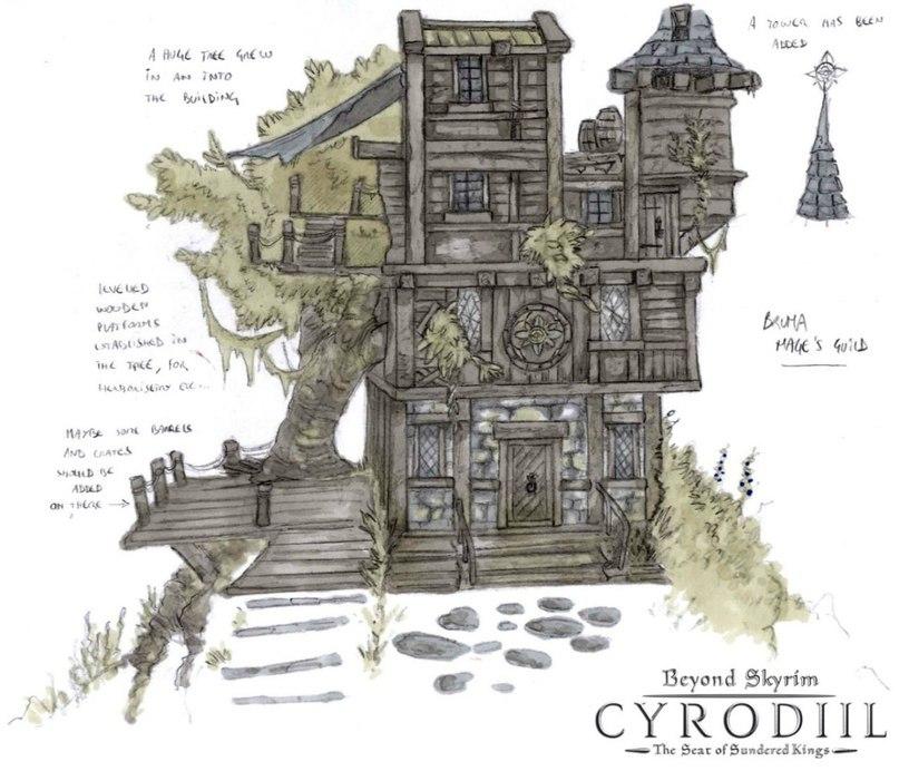 Beyond Skyrim-Весь Тамриэль на движке Скайрима!