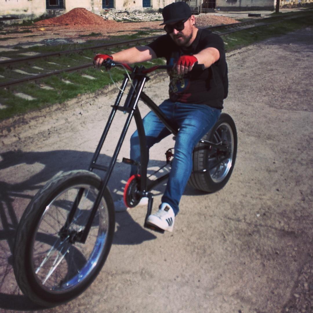 Как сделать чоппер из велосипеда фото 983
