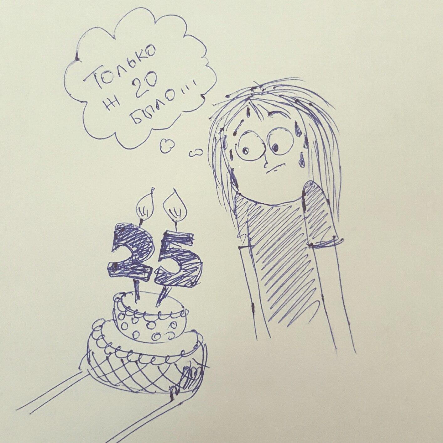 Как нарисовать на день рождения свою девушку