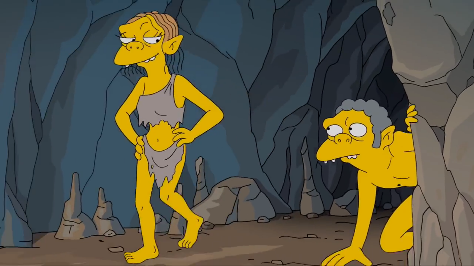 Симпсоны 25 сезон секс