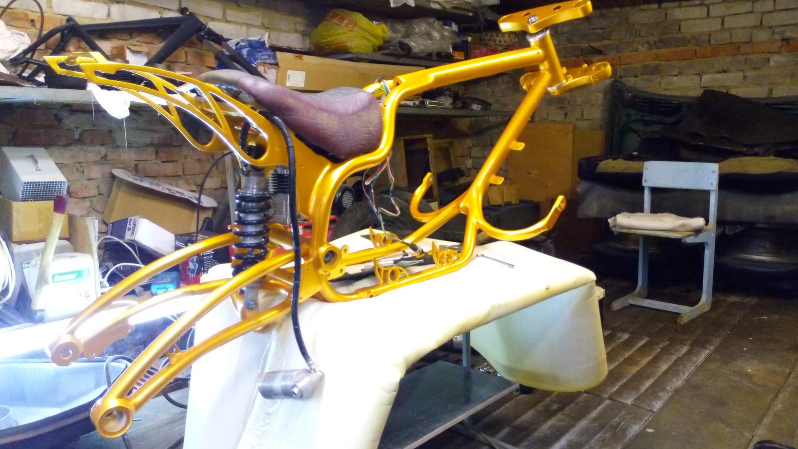 Покраска мотоцикла своими руками фото 766