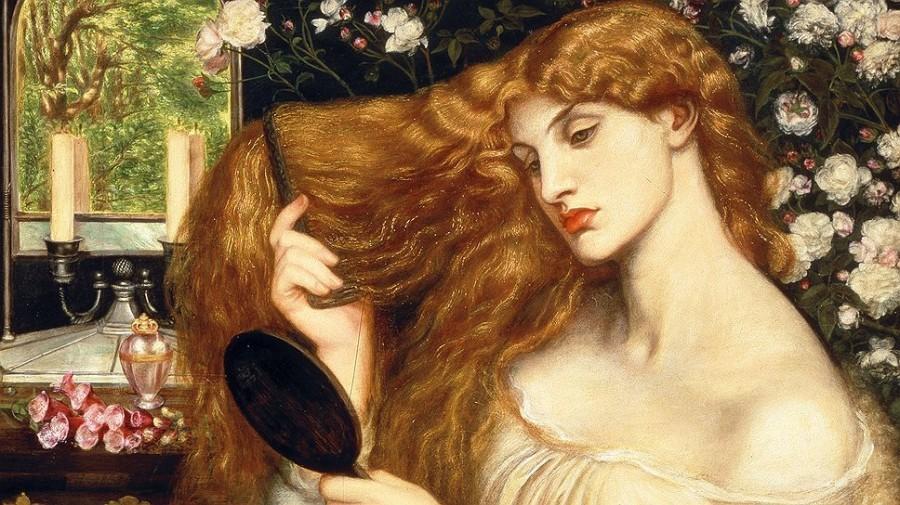 Прерафаэлитское волосы