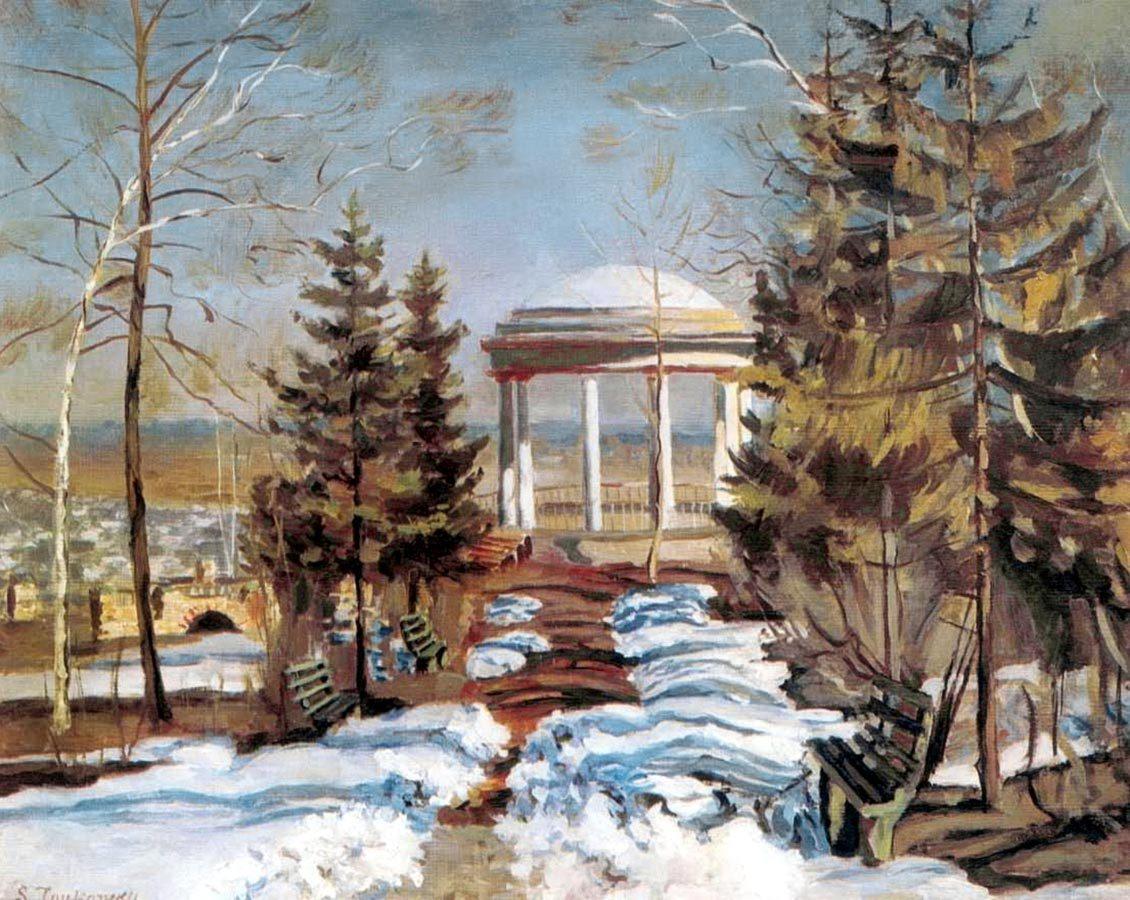 Обои Пейзаж с Грозой, картина, дома, Клод Моне, лодка. Разное foto 11