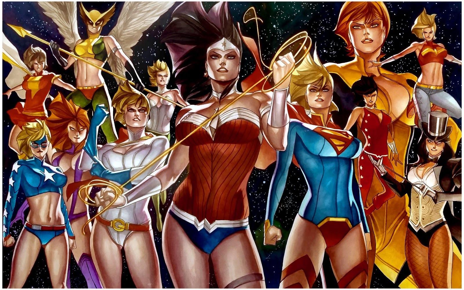Marvel героини