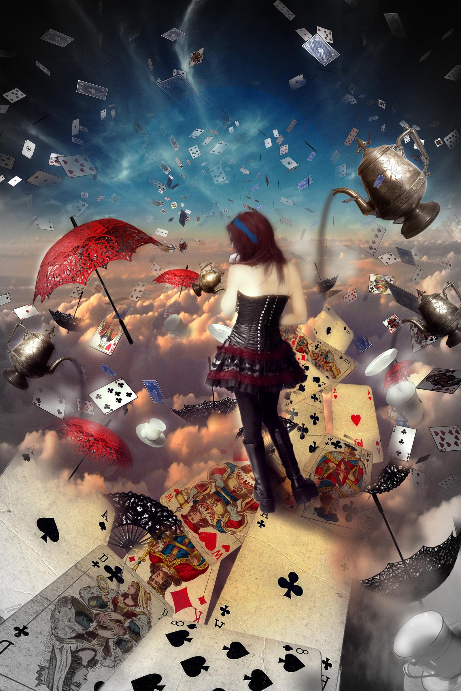 Алиса В Стране Чудес Красивые Картинки