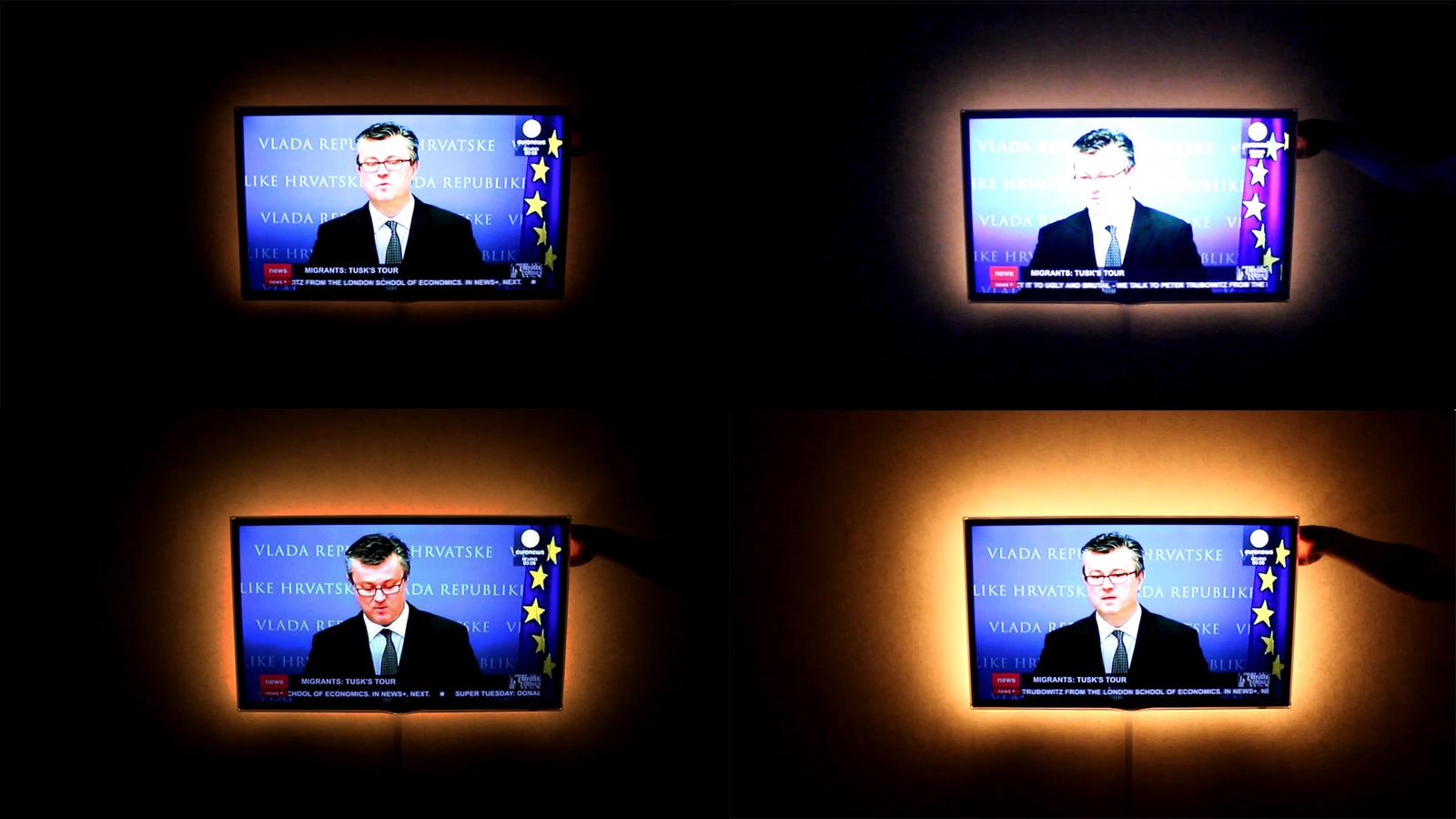 Как сделать своими руками подсветку для телевизора