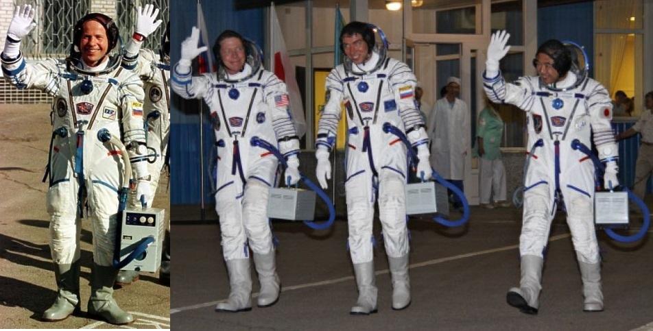 Что за чемоданы несут космонавты молодежные рюкзаки россия