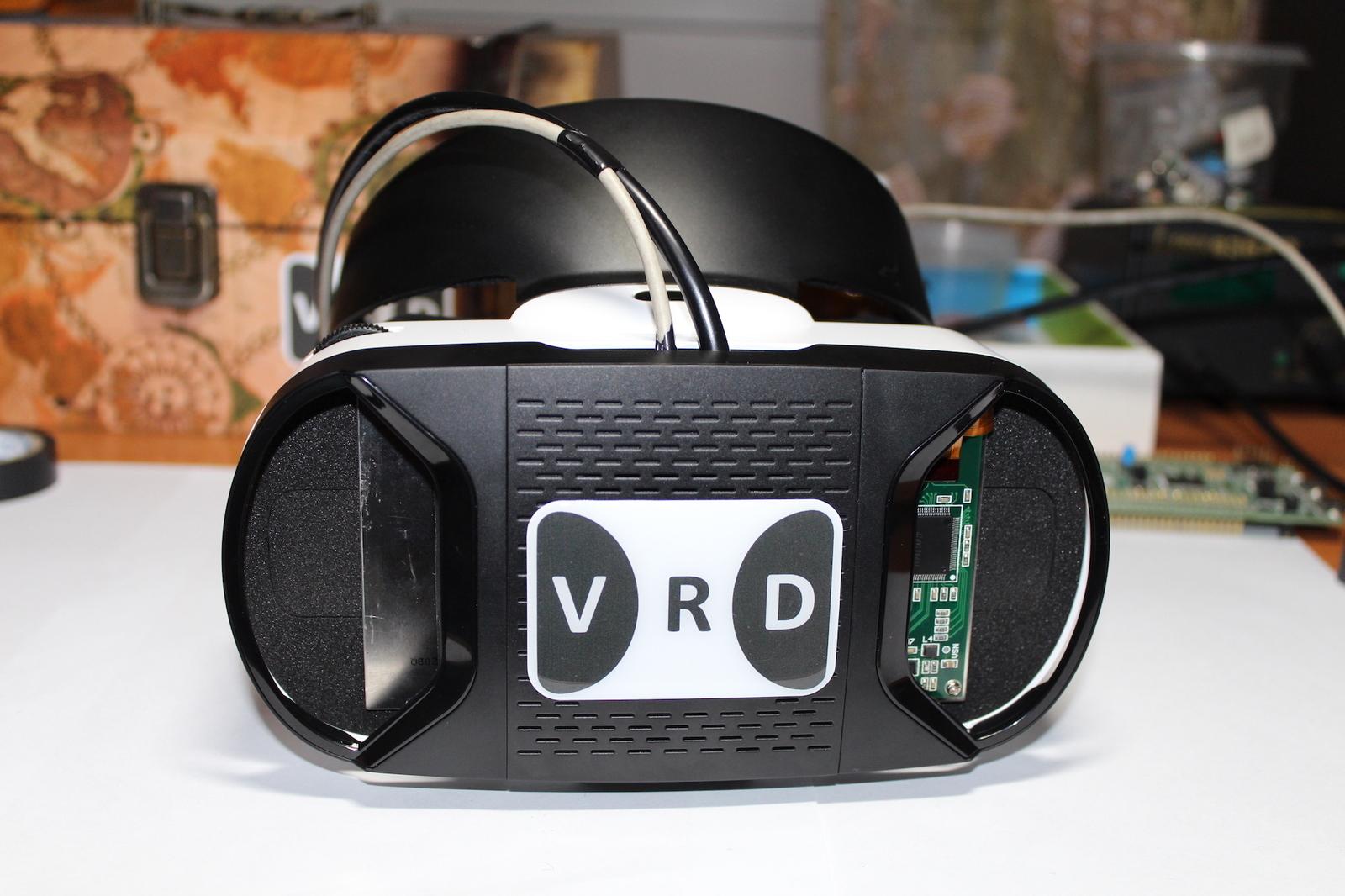 Виртуальная шлем своими руками