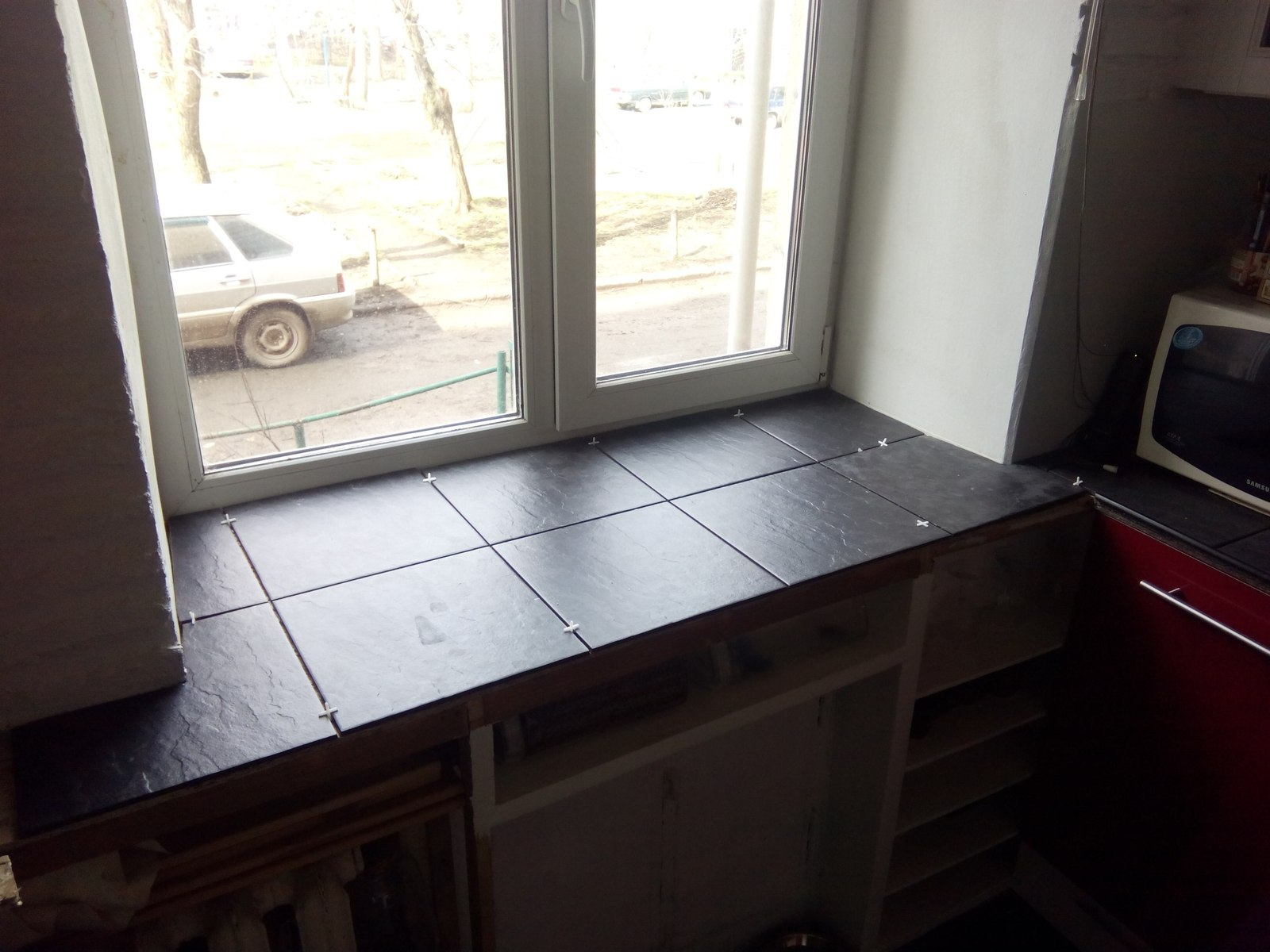 ремонт кухня в хрущевке фото