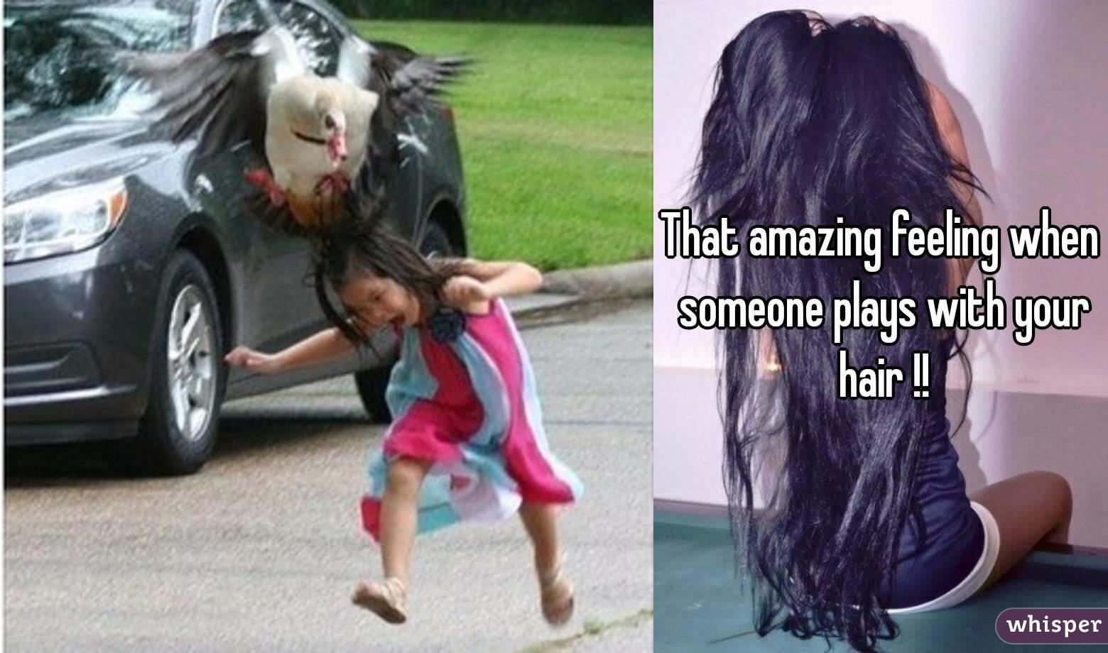 Вцепились в волосы