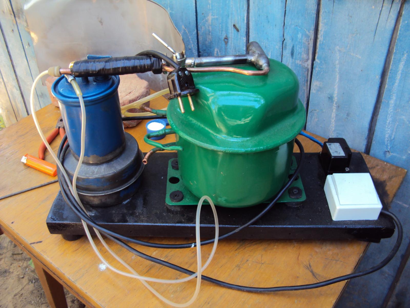 Бензиновая горелка своими руками видео фото 940