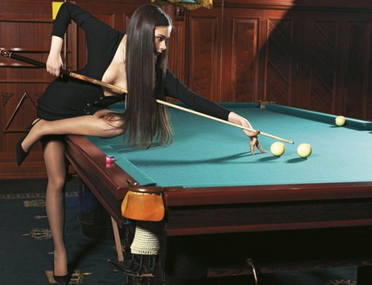 Вбильярд с девушками на раздевание фото 232-228