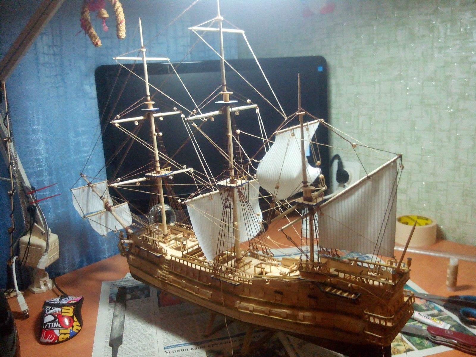 Сделать парусный корабль своими руками фото 68