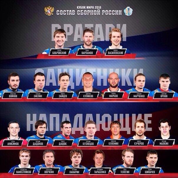 фото хоккей кубок мира 2016