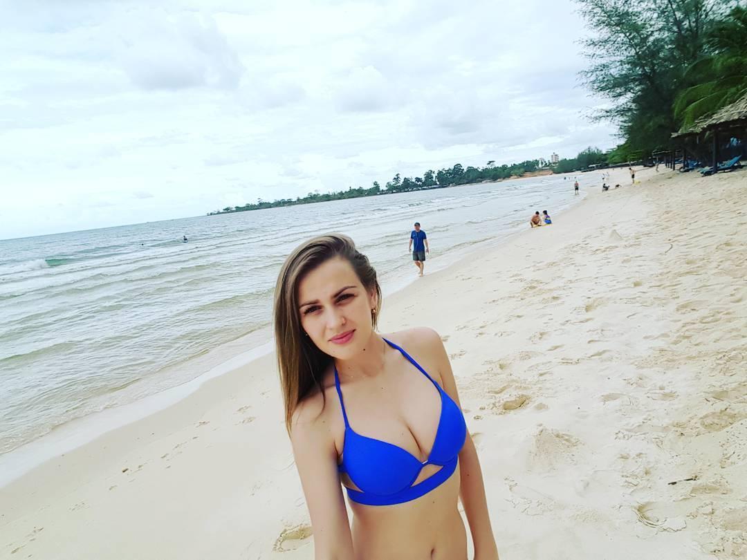 Девушки на пляже (25 фото) 59