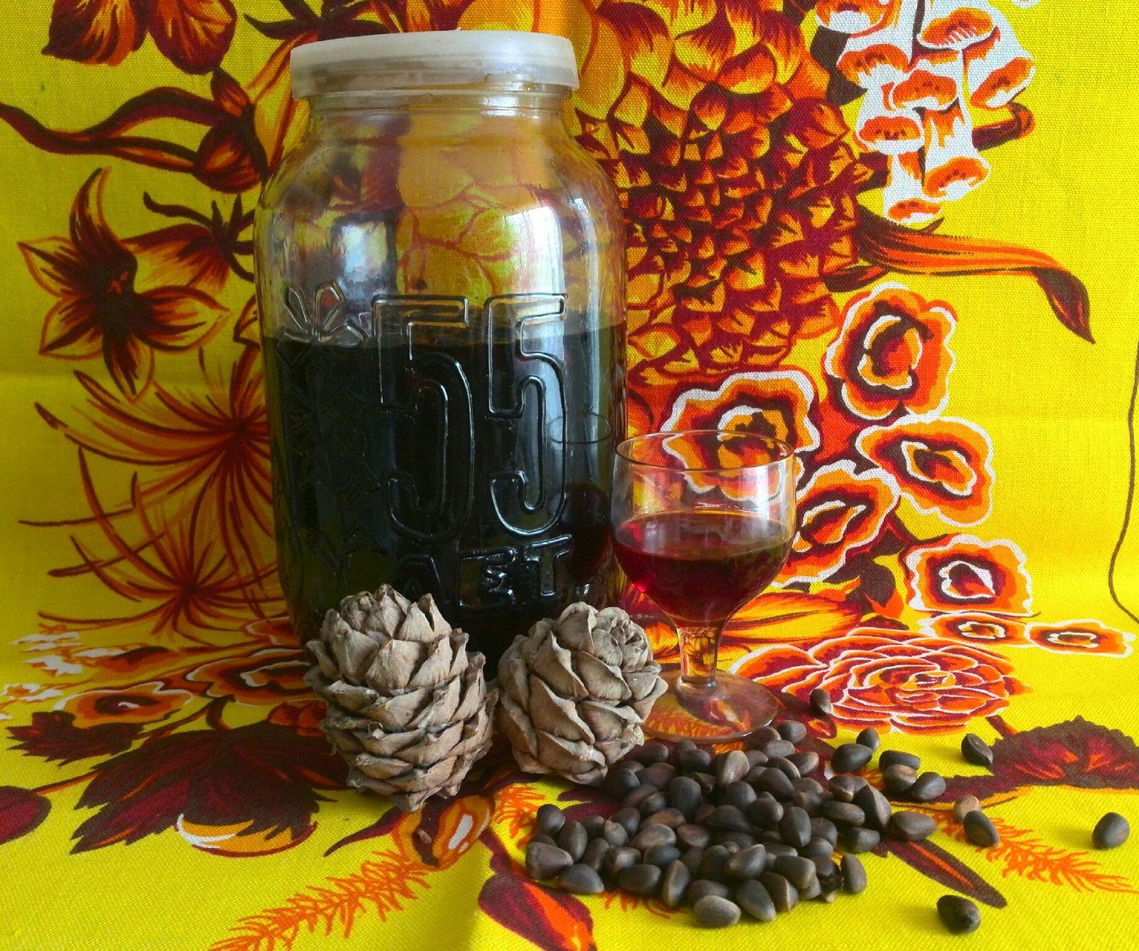 Водка на скорлупе кедровых орешках рецепт 57