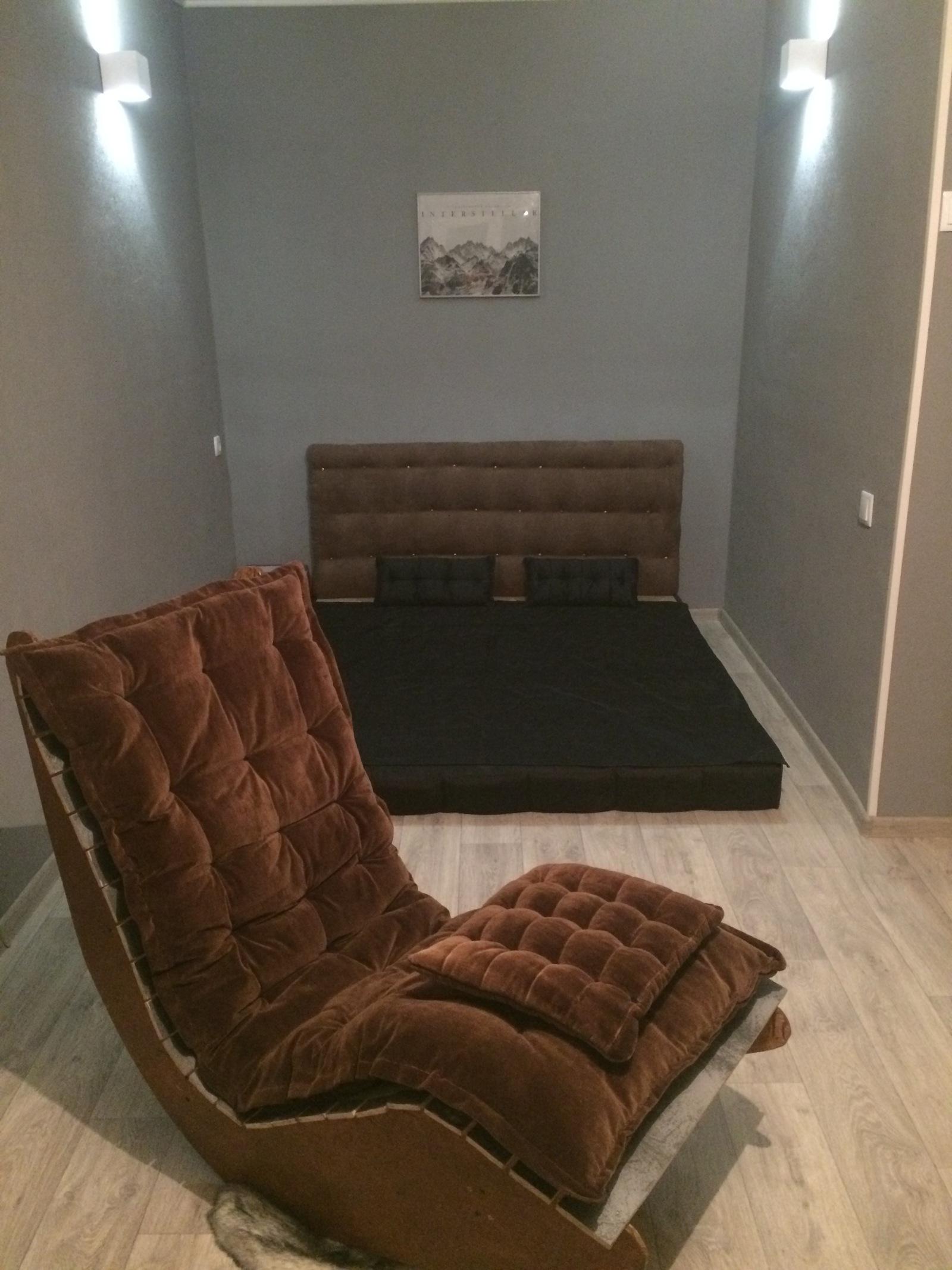 Кресла качалки из фанеры 124