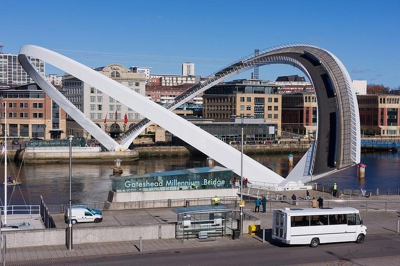 Мост миллениум в ньюкасле
