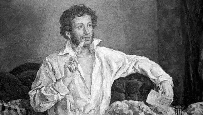 Пушкин занимается сексом