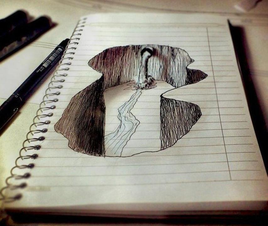 Как сделать нарисованную карандашом 31