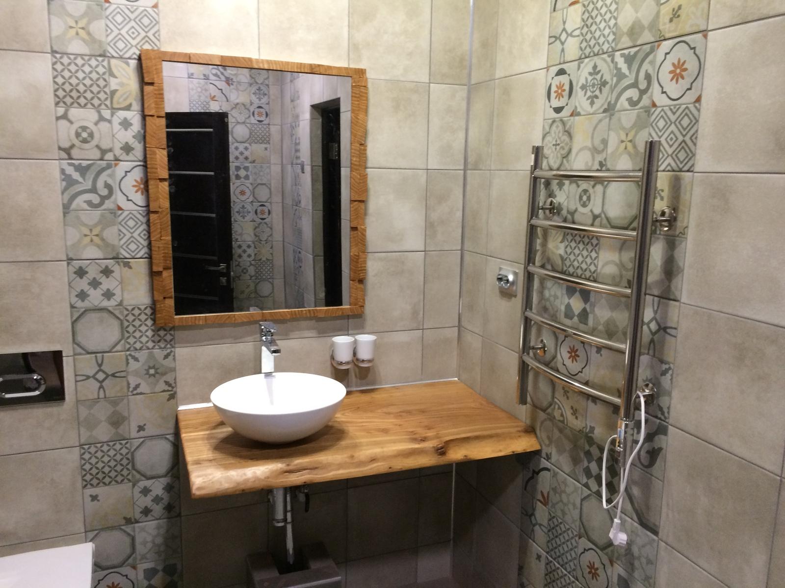 Зеркало в ванную с полками своими руками фото 869