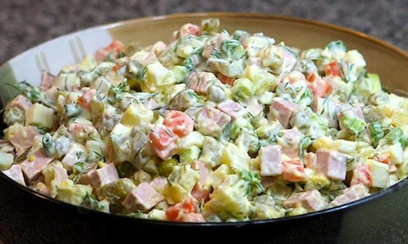 рецепты советских салатов с фото