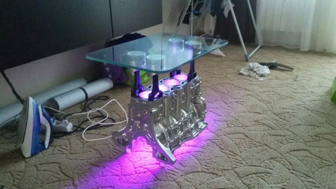 Как сделать стол с подсветкой фото 521