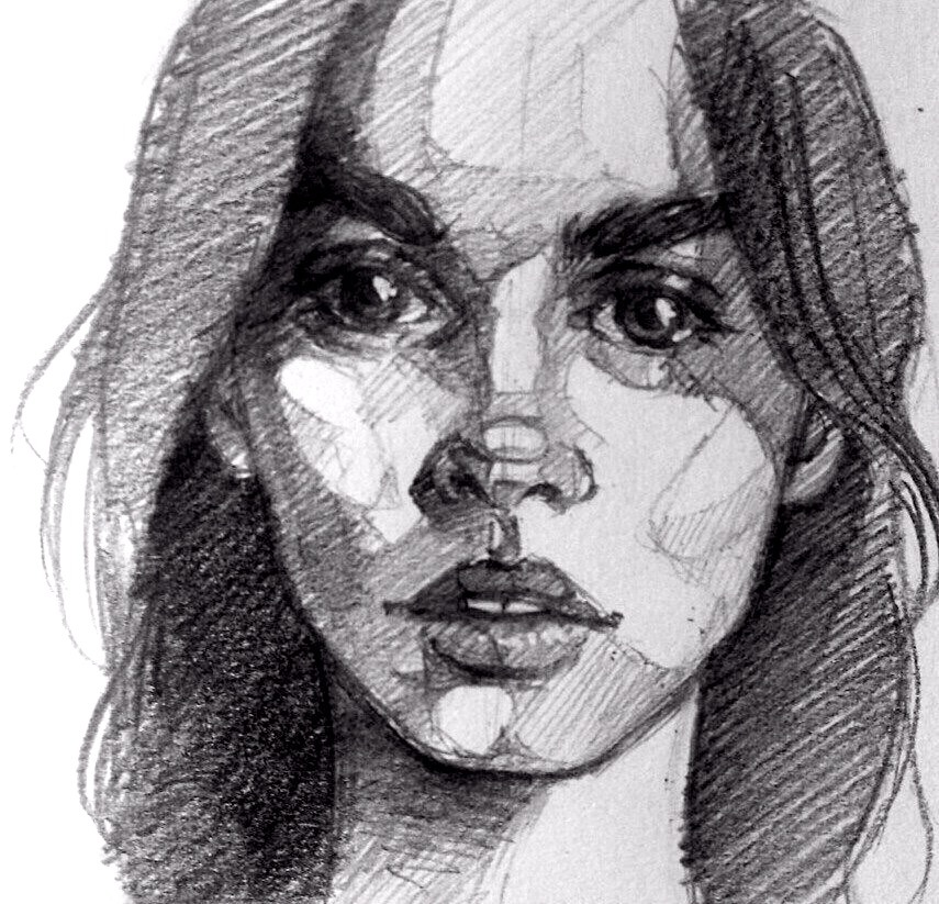 Картинку человека как рисовать карандашом поэтапно 11