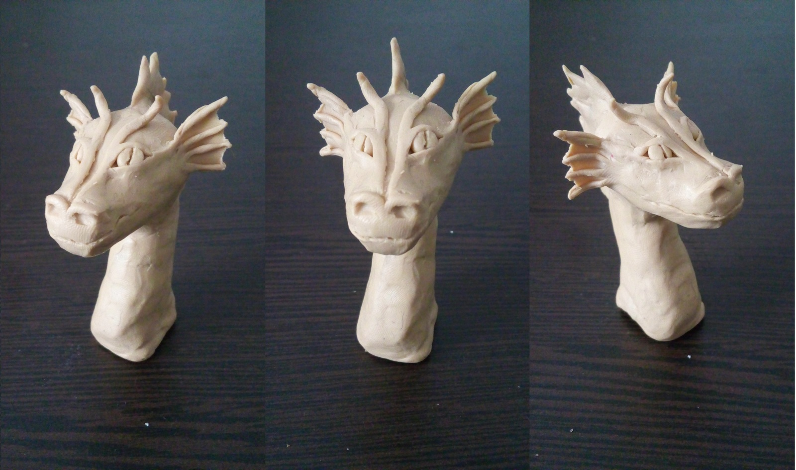 Сделать дракона своими руками из пластилина