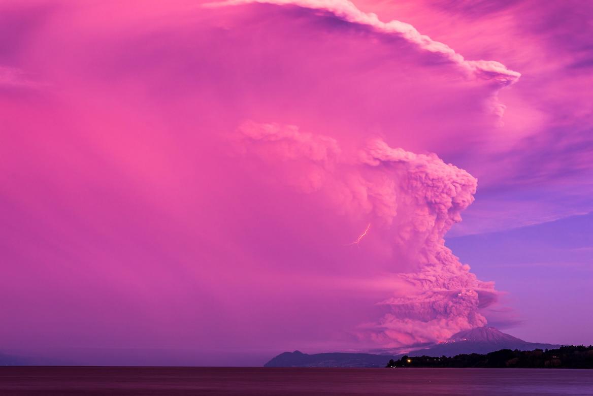 фото вулкан кальбуко