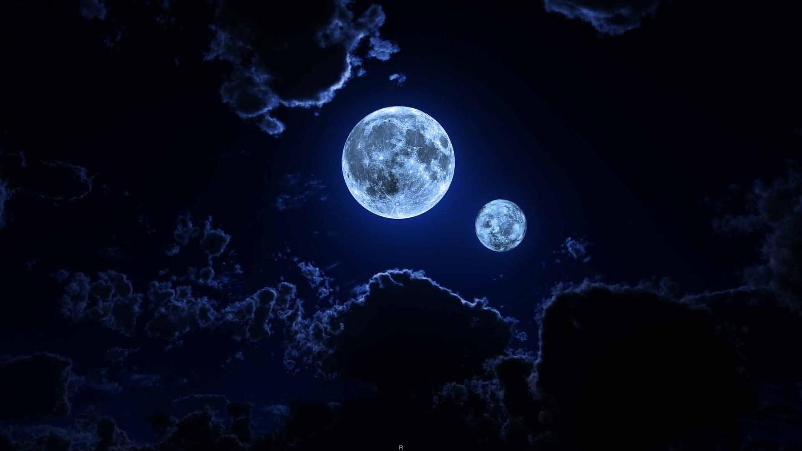 Две луны на небе: что это за явление и когда оно происходит в 2019 году