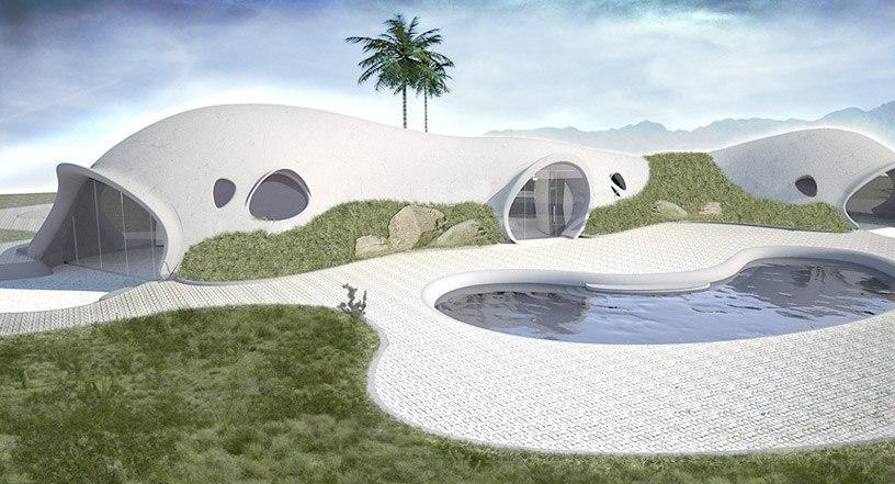 надувной бетон