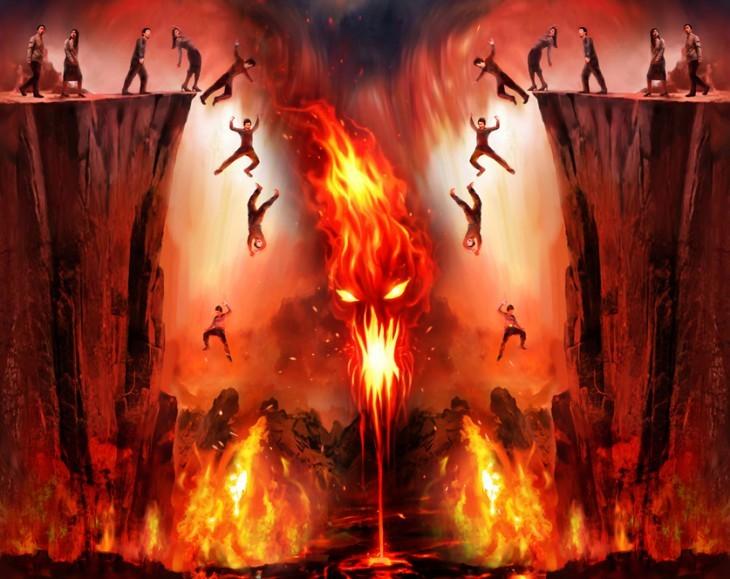 как выглядит рай и ад фото по настоящему