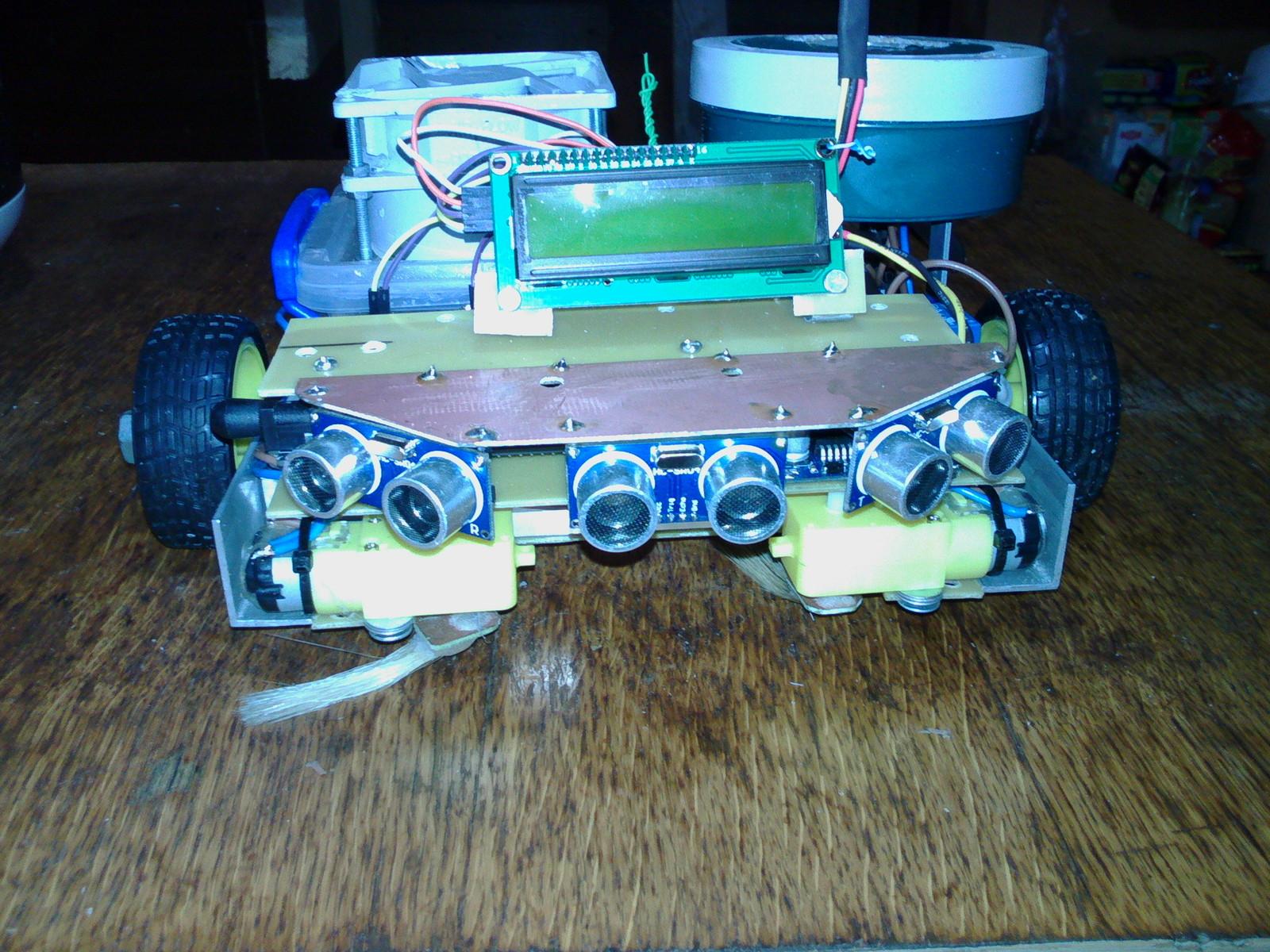 Робот пылесос сделать своими руками