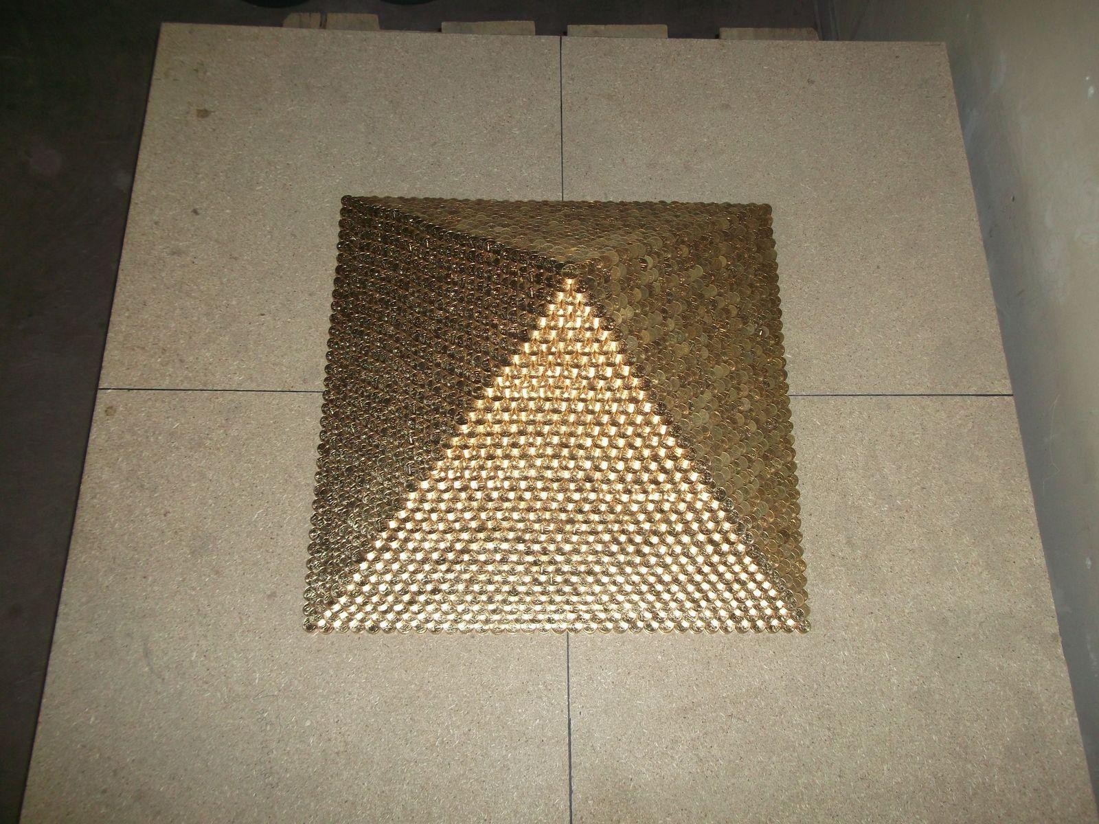 Большая пирамида своими руками