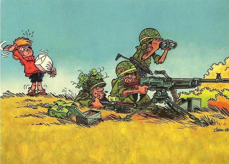 Война картинки прикол