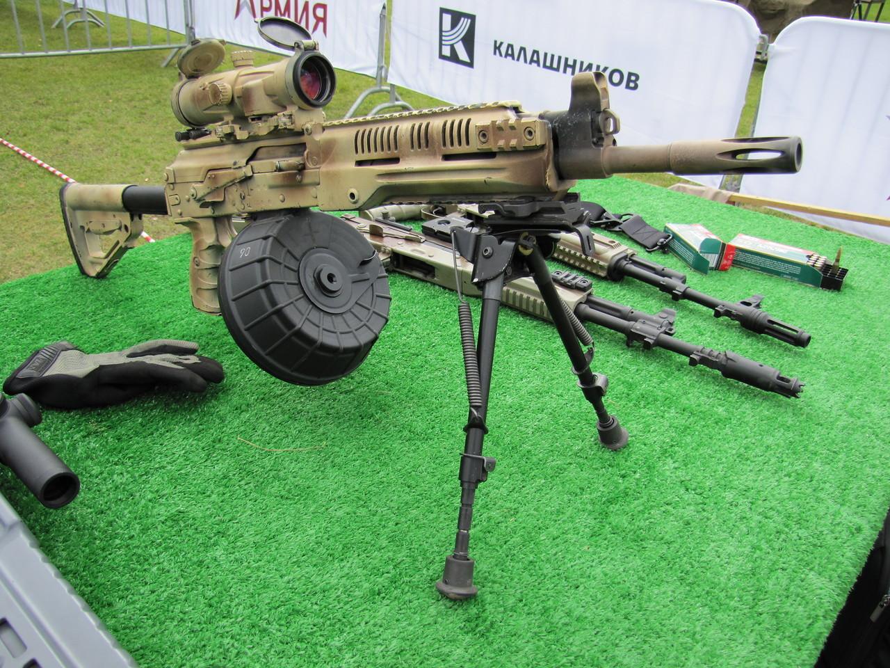 Ручной пулемет Калашникова проходит опытно-войсковые испытания