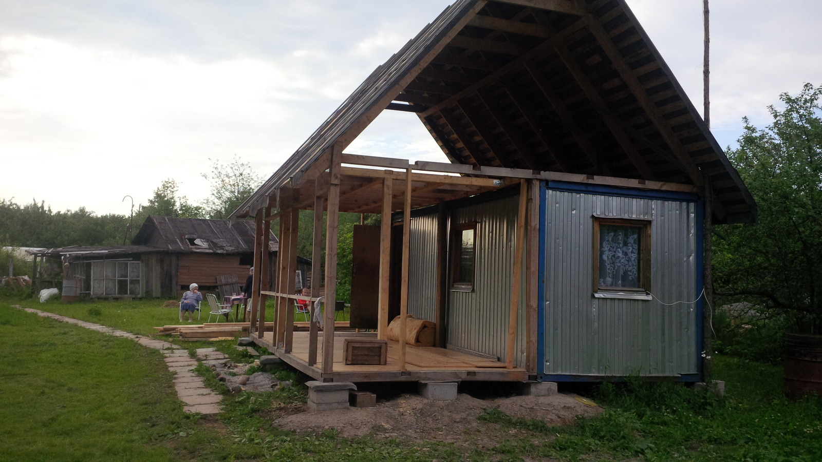 Дачный домик из глины своими руками фото 423