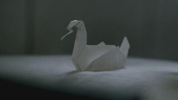 Лебеди оригами из сериала побег